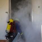 Brandbekämpfung eines Wohnhausbrandes2